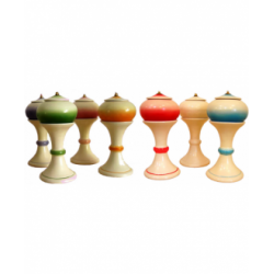 Giara in Ceramica con Piedistallo