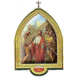Via Crucis 34x25 polimero15pz  €.43.97 al pz.