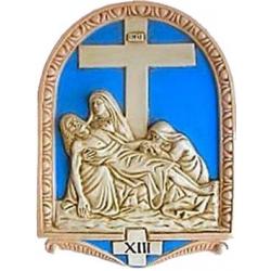 Via Crucis 26x20 e 50x36 ceramica 15pz