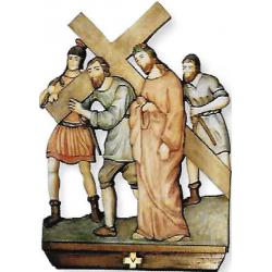 Via Crucis 35x25 -kegno 15pz  €.162,67 al pz.