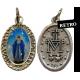 Medaglietta della MIRACOLOSA con Catenina