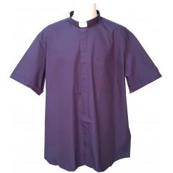 Camicia Clergy Manica Corta 100% Cotone