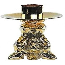 Candeliere Barocco foro da 4cm.