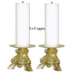 Coppia Candelieri Barocco