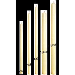 Candela Votiva d.1,5xh27cm