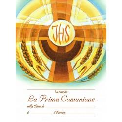 Pergamena COMUNIONE promozione 100pz €.74