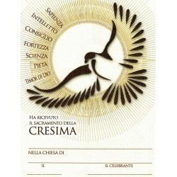 Pergamena CRESIMA promozione 100pz €.74